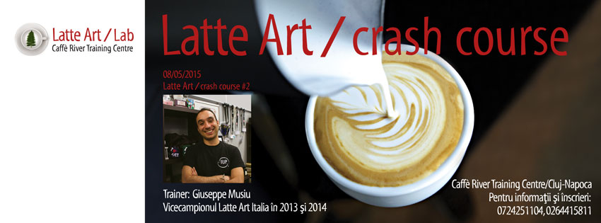 latte art crash course 2 RO